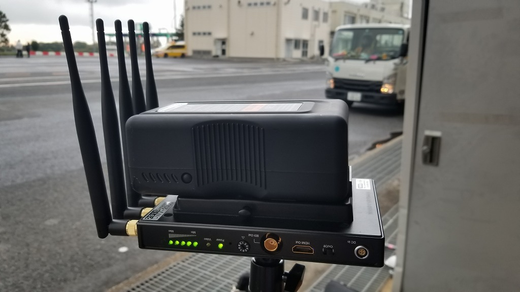 映像無線中継機