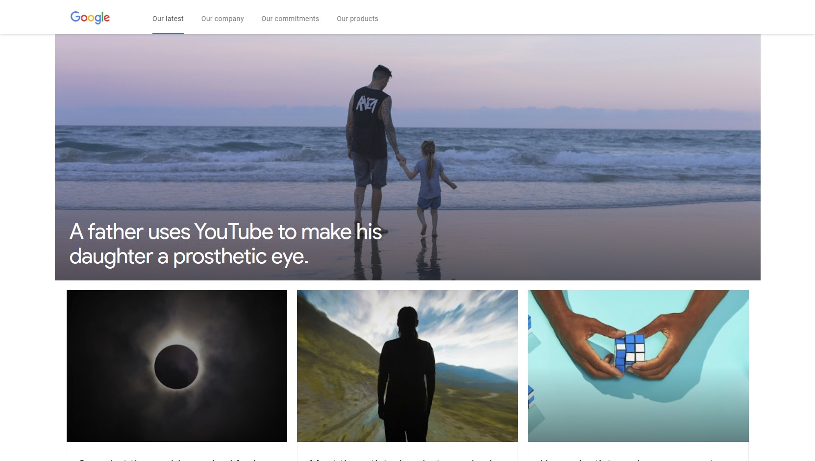 Our-latest-Google